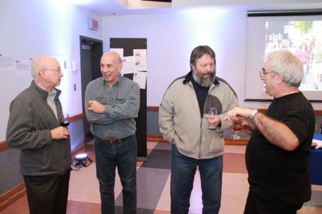 Michel Bolduc, Guy Paradis, Luc Dupuy et Claude Deschênes