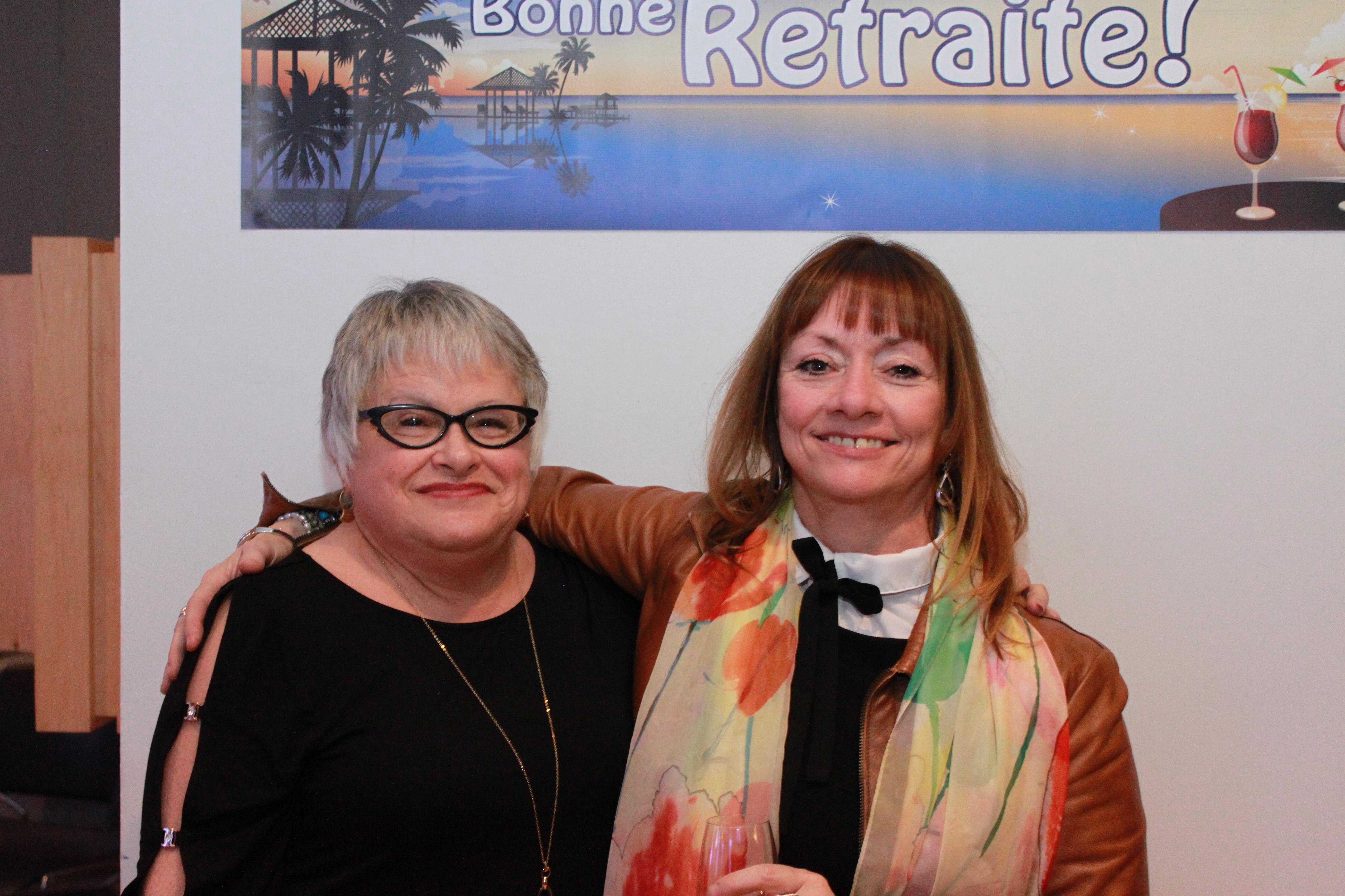 Danielle Bissonnette et Thérèse Fillion
