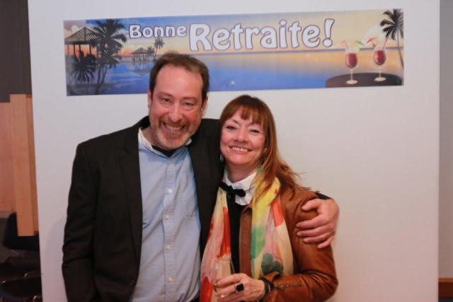 Martin Larose et Thérèse Fillion