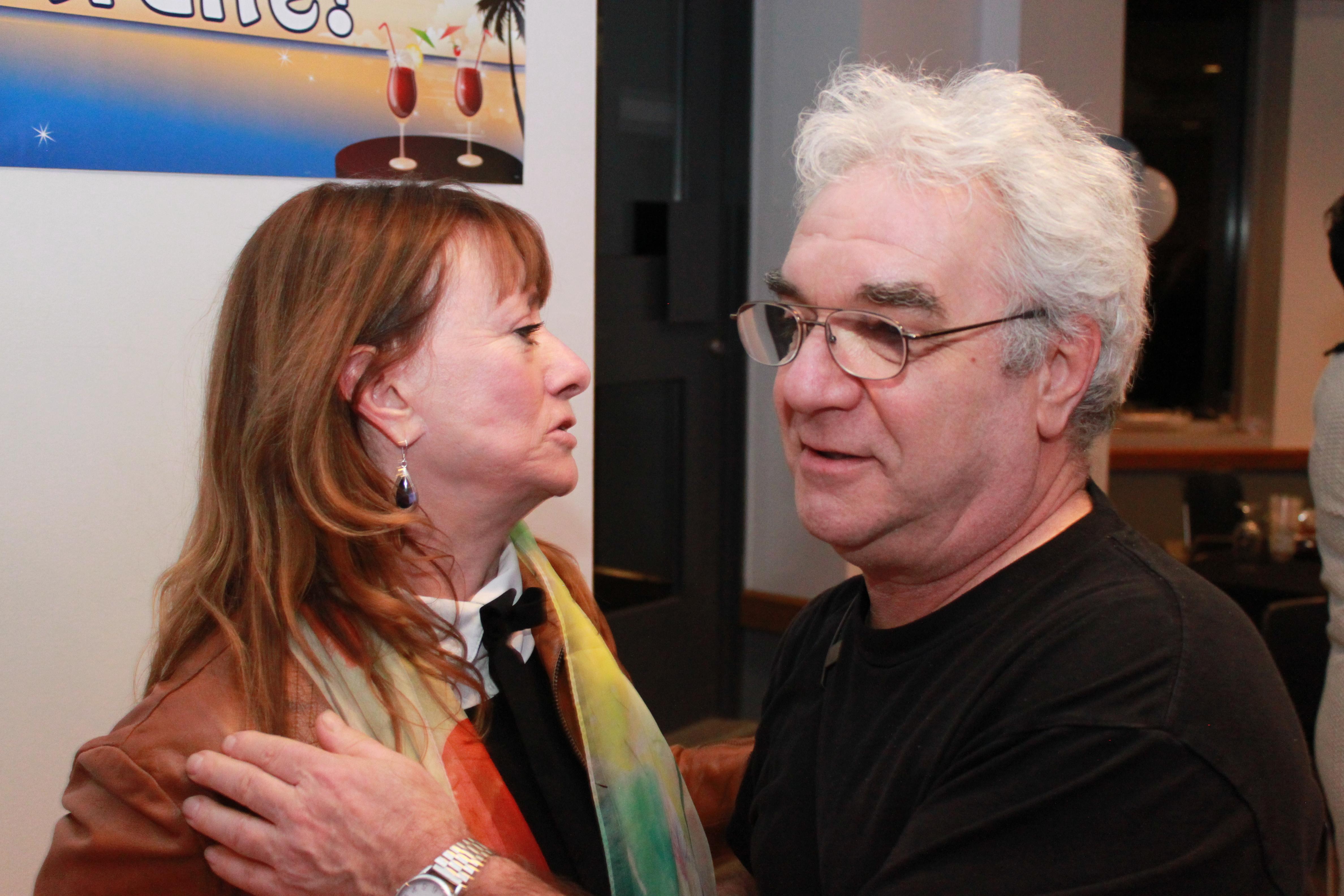 Thérèse Fillion et Claude Deschênes