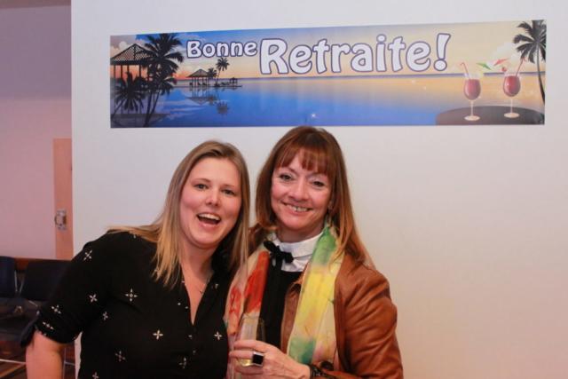 Véronique Cyr-Reid et Thérèse Fillion