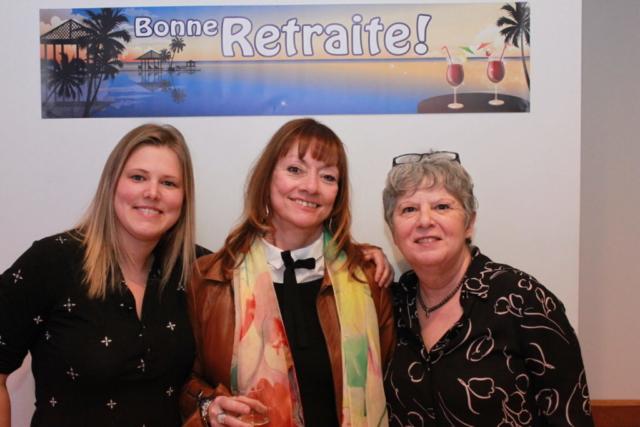 Véronique Cyr-Reid, Thérèse Fillion et Claire Bouchard