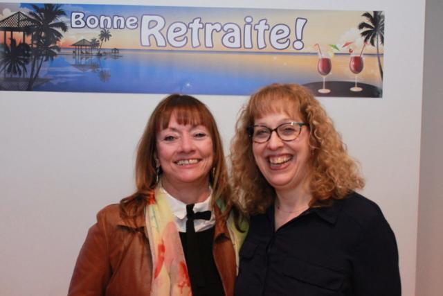 Thérèse Fillion et Sylvie Lemieux