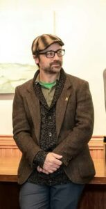 Julien Leclerc, candidat à l'ESG