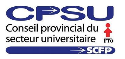 Logo du Conseil provincial du secteur universitaire